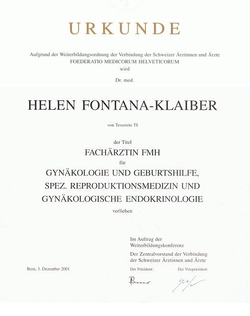 Urkunde